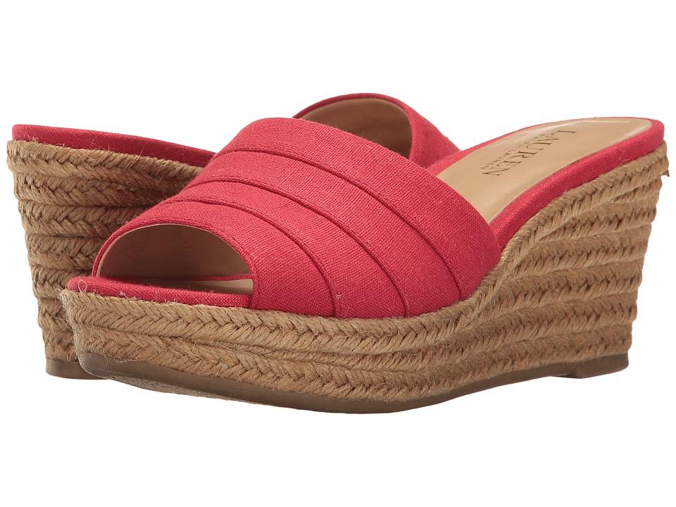 LAUREN Ralph Lauren - Karlia (Red) Women's Shoes