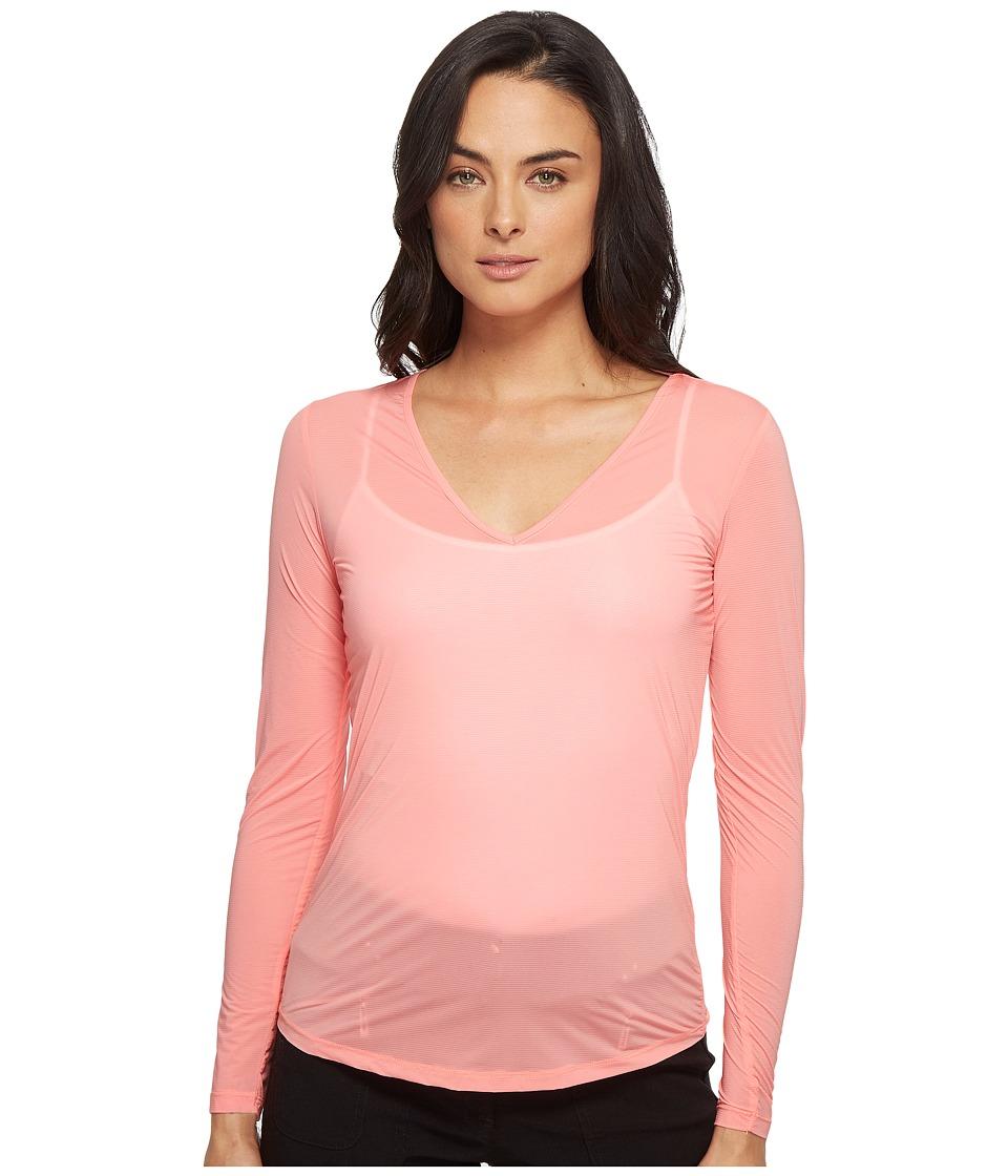 Jamie Sadock - Sunsense(r) Long Sleeve Layering Top (Tutti Fruiti) Women's Long Sleeve Pullover