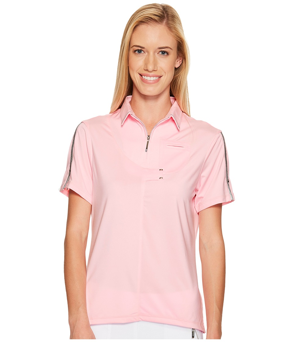 Jamie Sadock - Short Sleeve Top (Yum Yum) Women's Clothing
