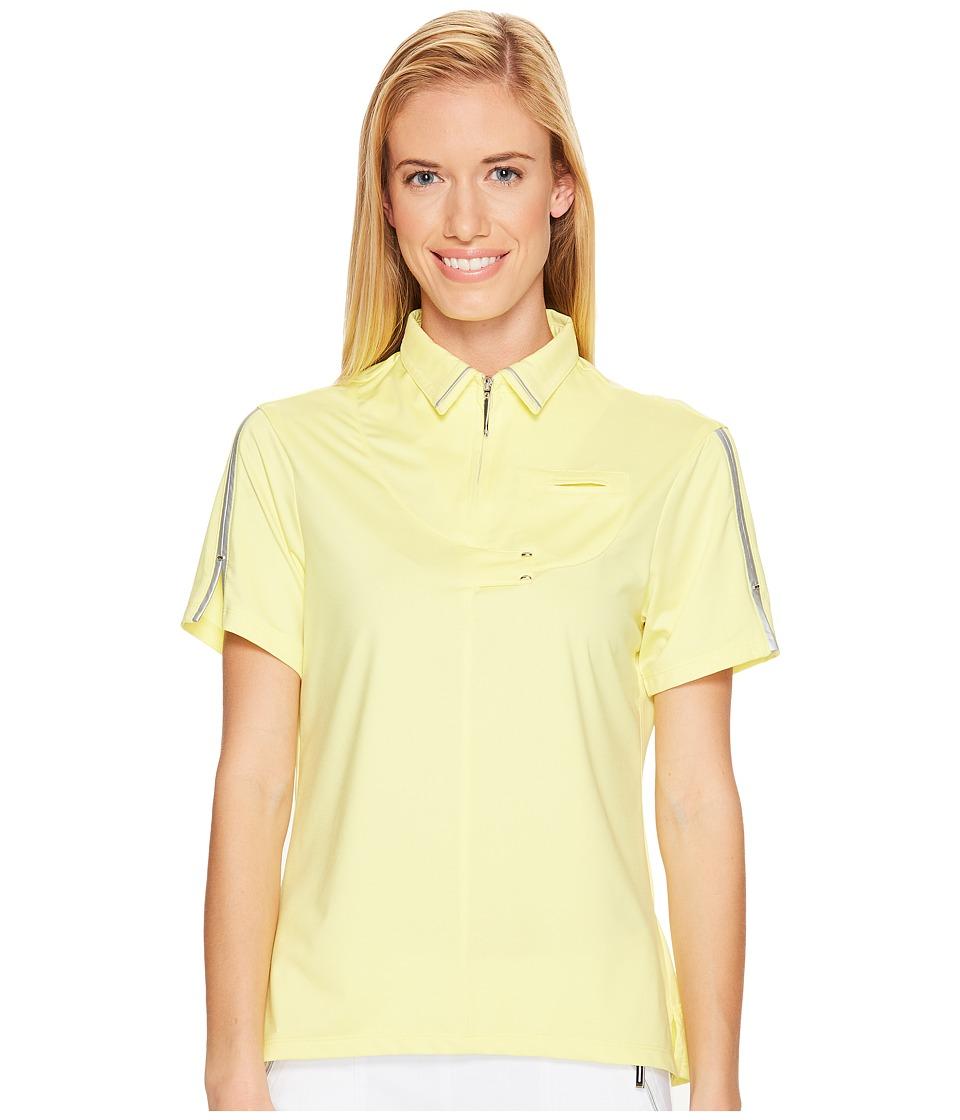 Jamie Sadock - Short Sleeve Top (Luminosity) Women's Clothing