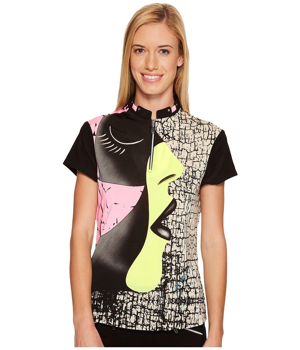 Jamie Sadock - Facetime Short Sleeve Top (Yum Yum) Women's Clothing