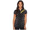 Jamie Sadock - Crunchie Habu Print Short Sleeve Top