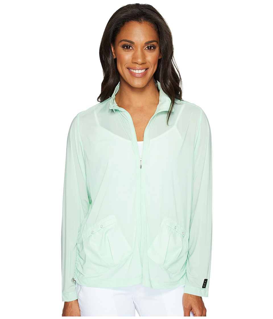 Jamie Sadock - Sunsense(r) Lightweight Jacket (Mint Julep) Women's Coat