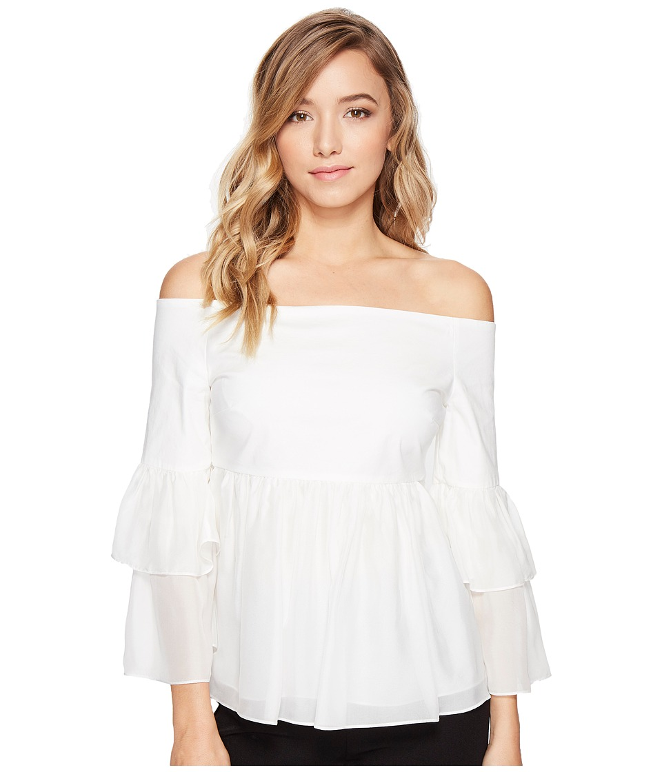Rachel Zoe - Charlotte Top (Ecru) Women's Clothing