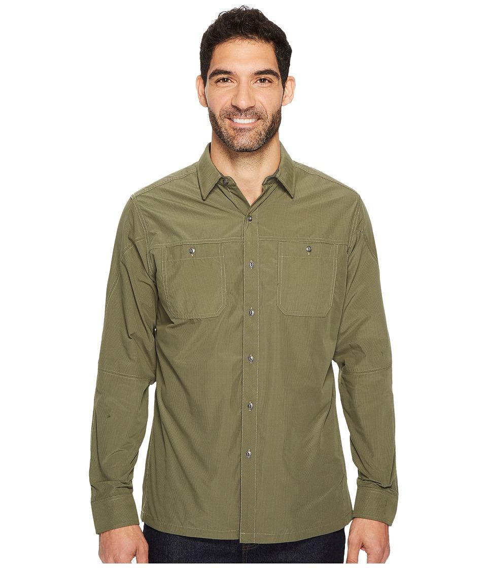 KUHL Bakbonetm Long Sleeve Shirt (Winter Moss) Men
