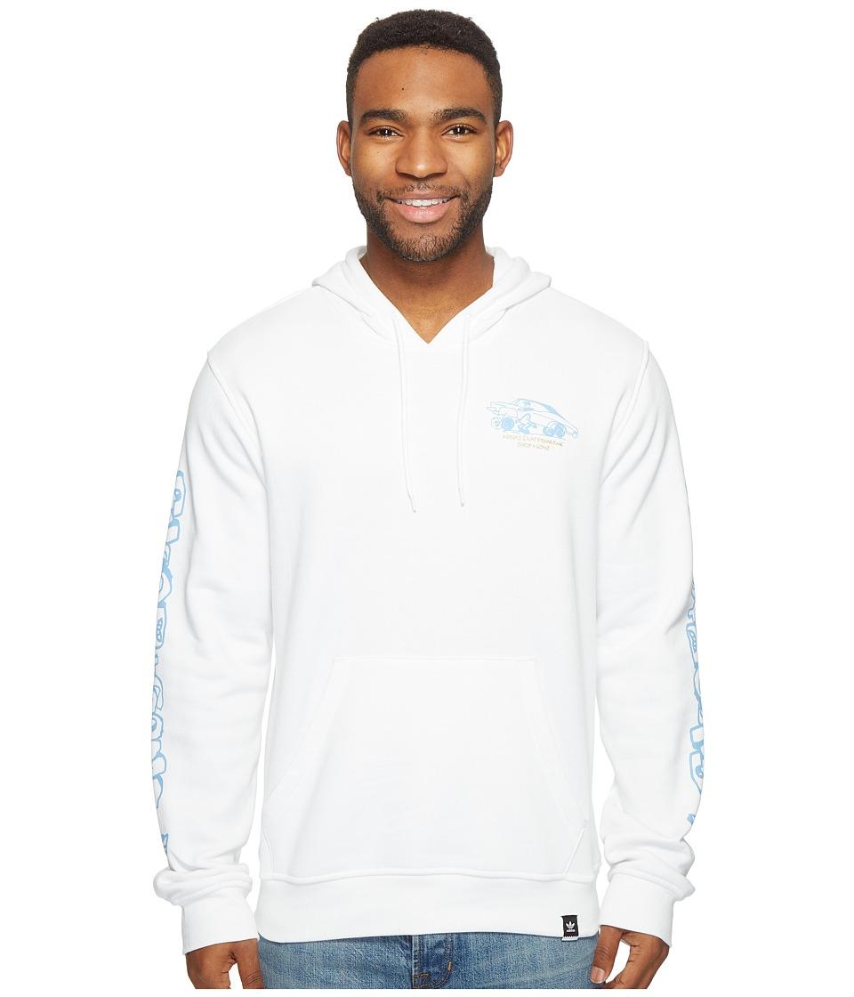 adidas Skateboarding - Snoop X Gonz Hoodie (White) Men's Sweatshirt