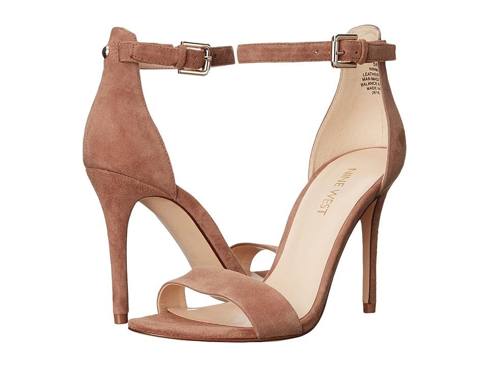Nine West Mana (Natural Suede) High Heels