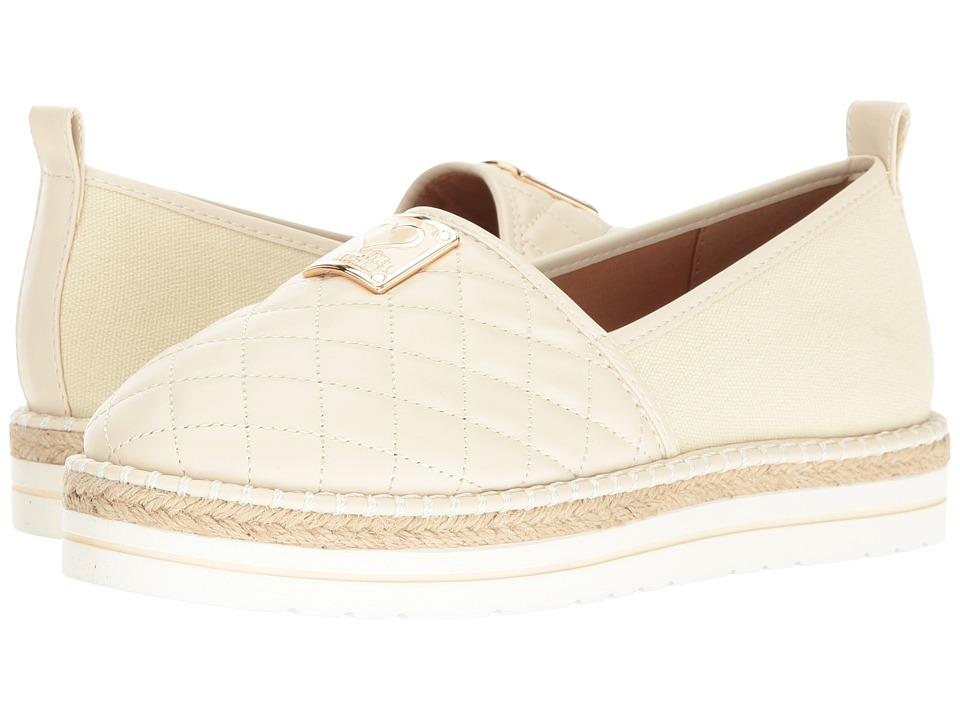 LOVE Moschino - Superquilted Espadrille (White) Women's Shoes