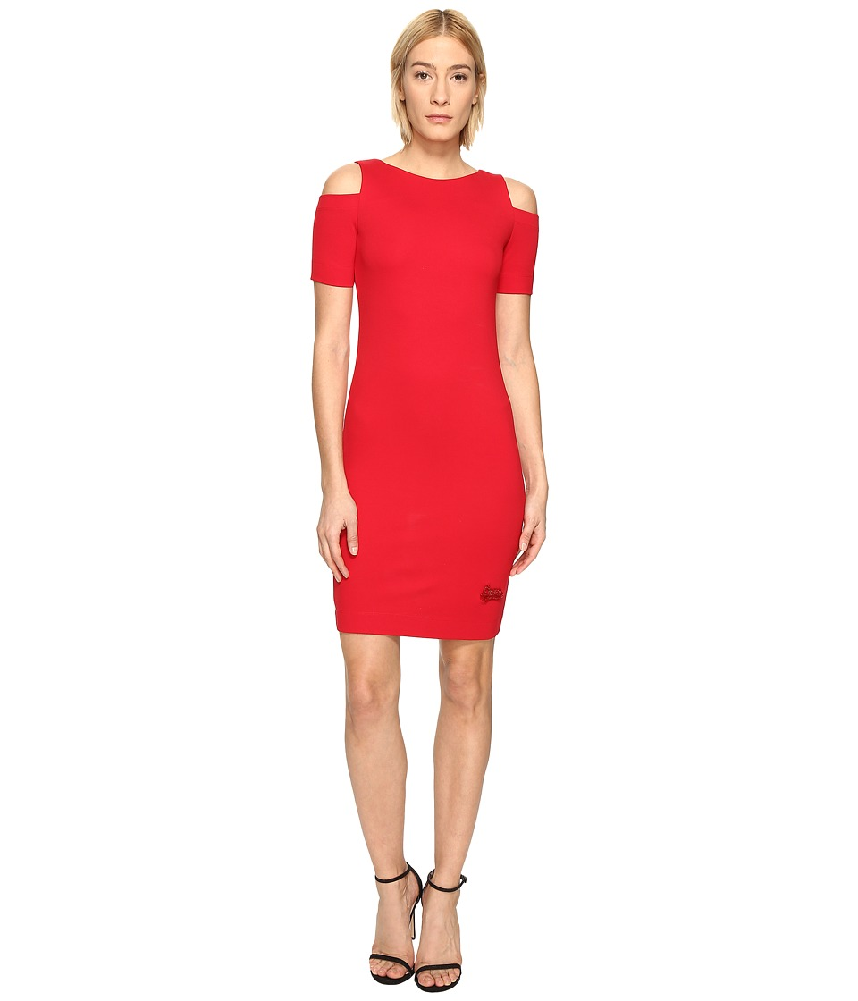 LOVE Moschino Cold Shoulder Dress (Red) Women