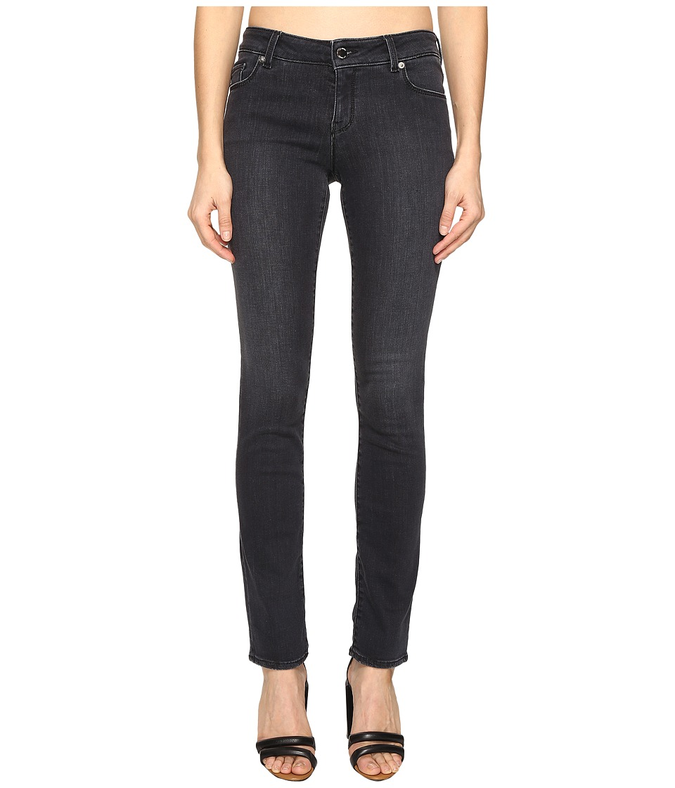 LOVE Moschino - Acid Wash Trousers (Black Denim) Women's Casual Pants