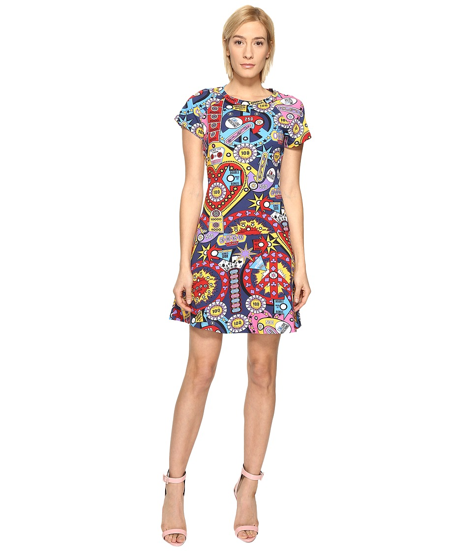LOVE Moschino - Drop Waist Dress (Multi) Women's Dress