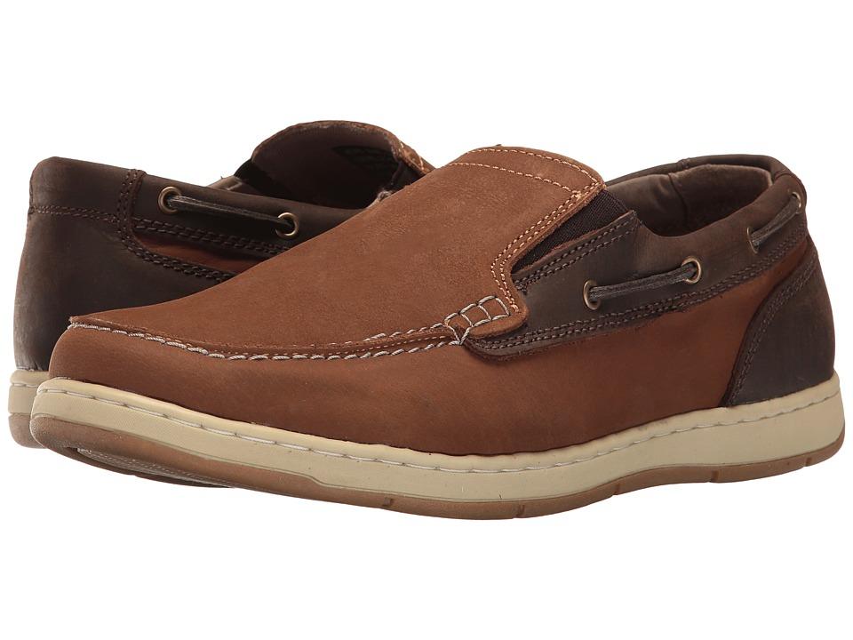 Nunn Bush Sloop Slip-On Boat Shoe (Camel/Brown) Men
