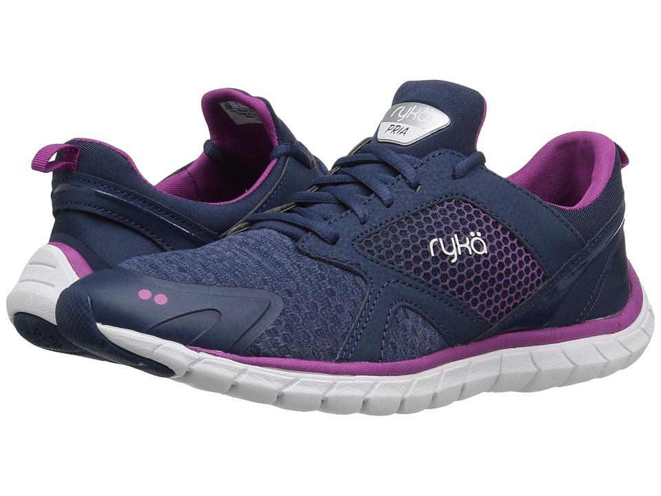 Ryka - Pria (Insignia Blue/Vivid Berry/Chrome Silver) Women's Shoes