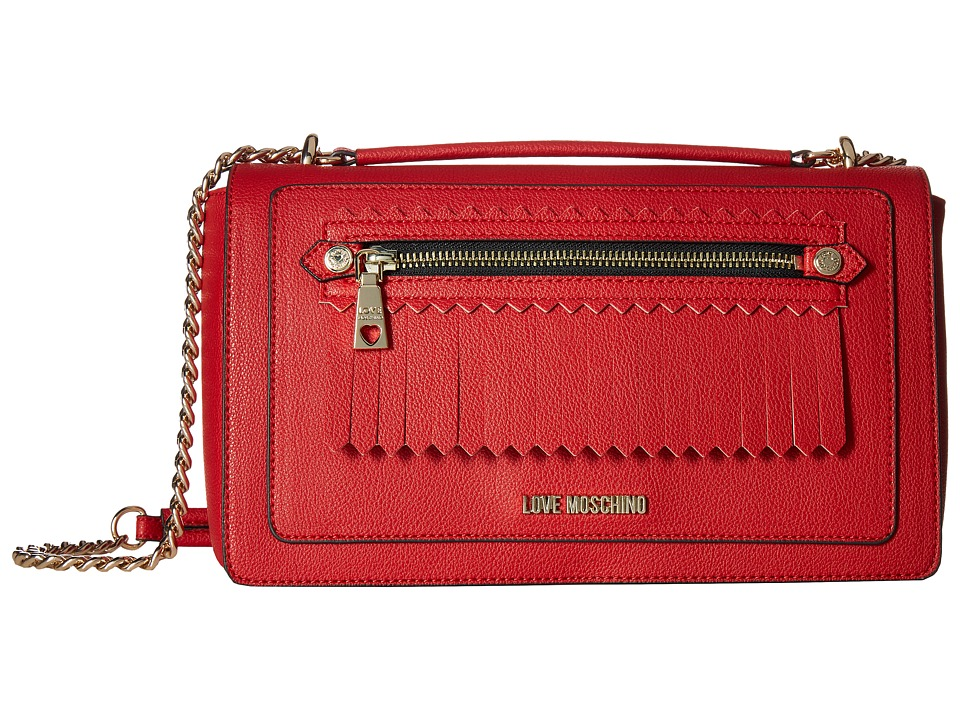 LOVE Moschino - Fringes Bag (Red) Bags