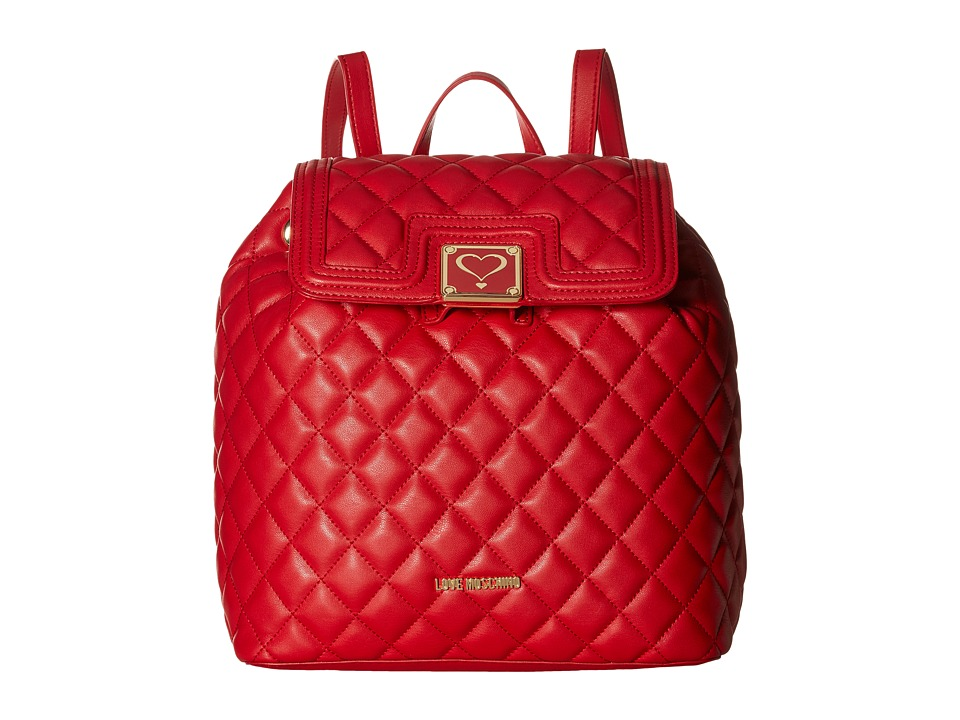 LOVE Moschino - Superquilted Fold-Over (Red) Bags
