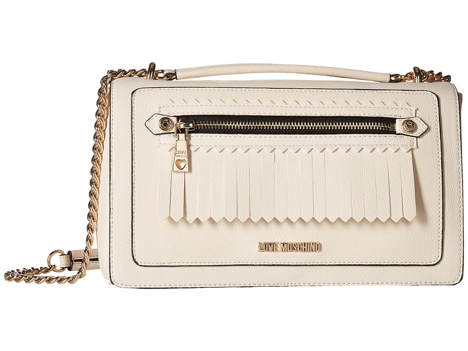 LOVE Moschino - Fringes Bag (Cream) Bags