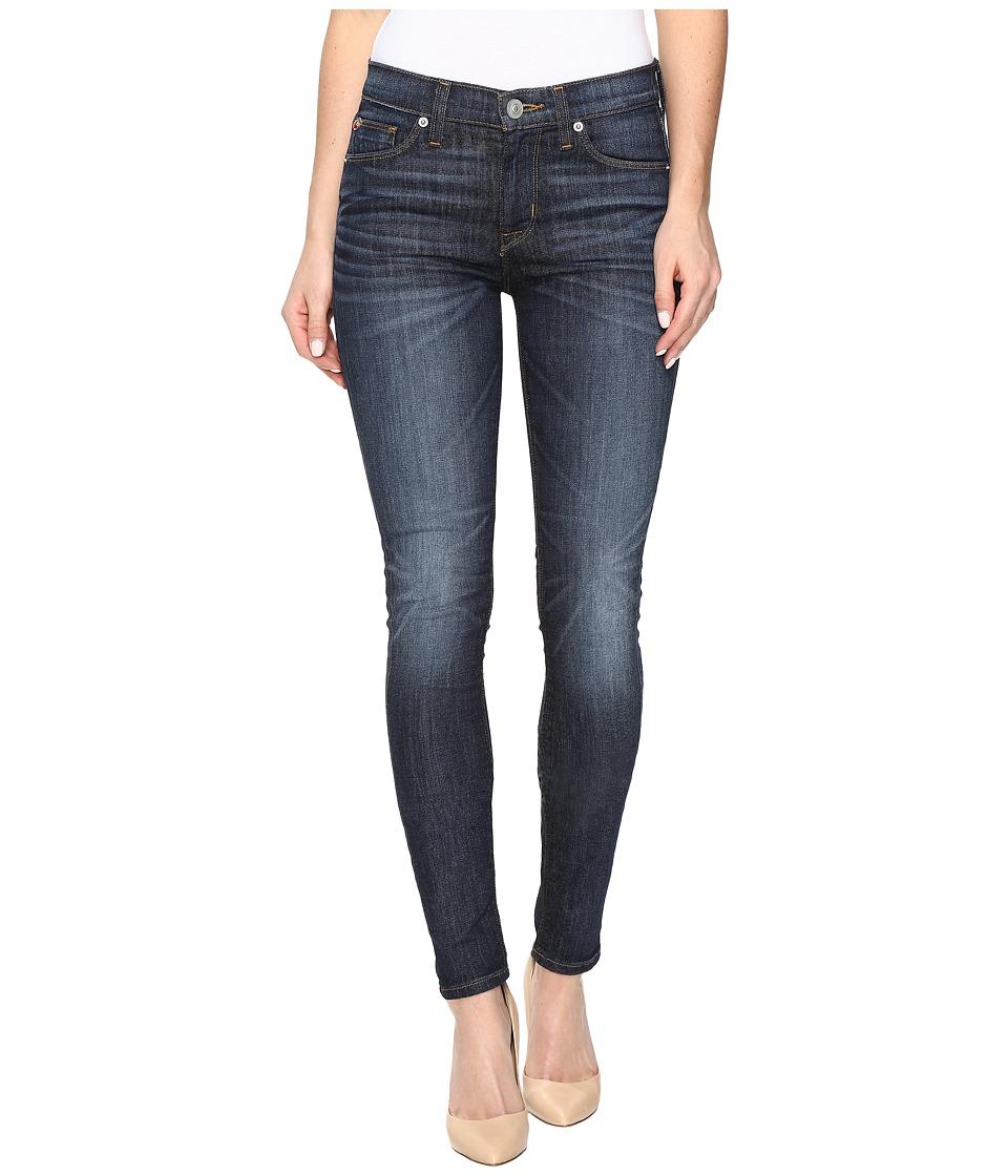 Hudson - Nico Mid-Rise Super Skinny Jeans in Malibu Canyon (Malibu Canyon) Women's Jeans