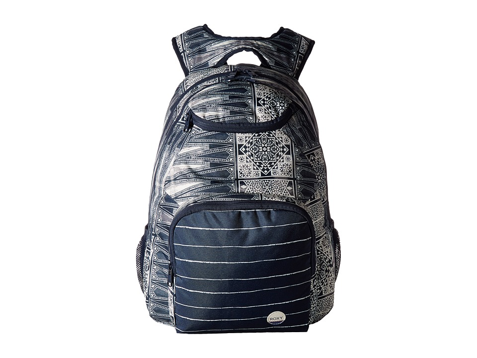 Roxy - Shadow Swell Printed Backpack (Dress Blues Chief Prado) Backpack Bags