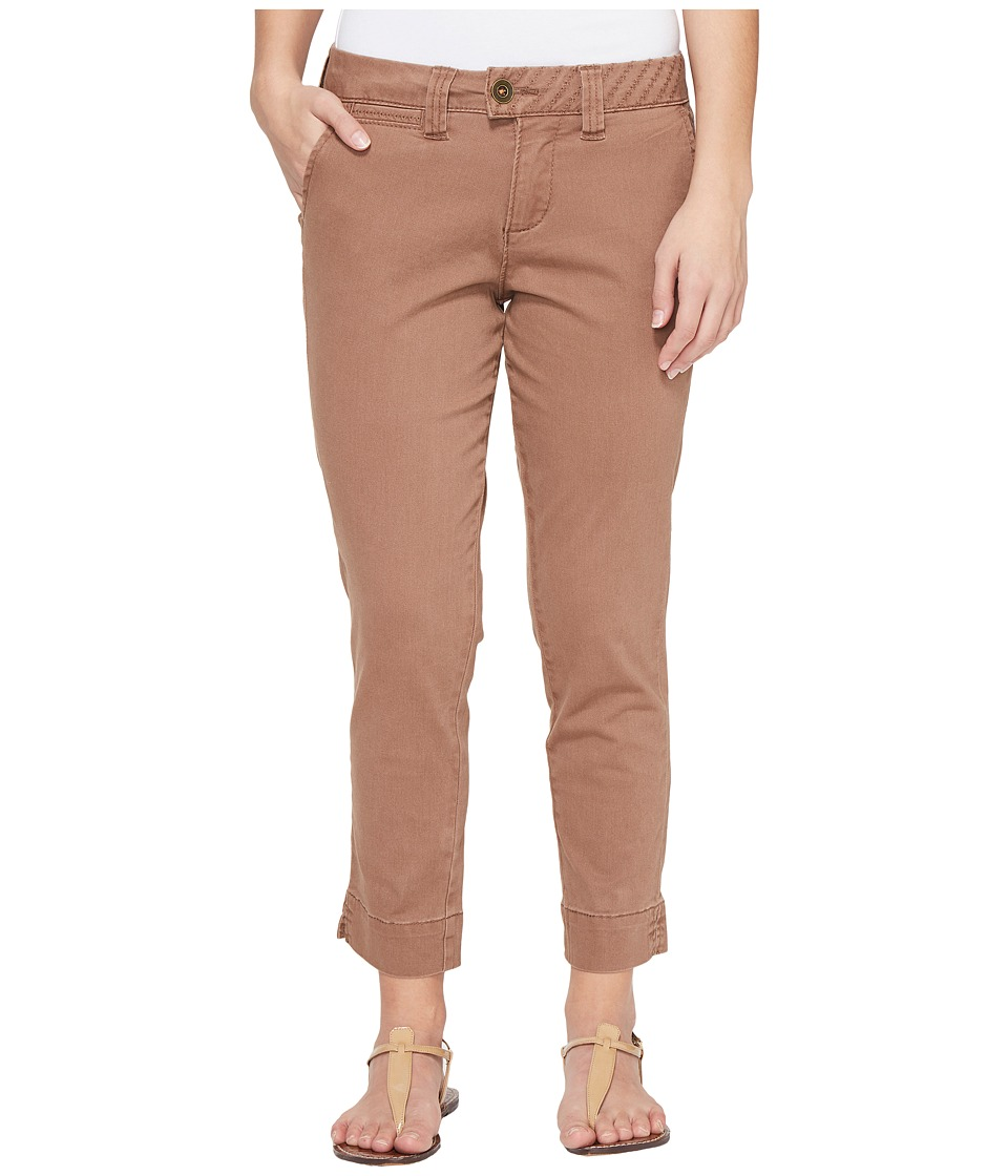 Jag Jeans Petite - Petite Creston Ankle Crop in Bay Twill (Birds Nest) Women's Casual Pants