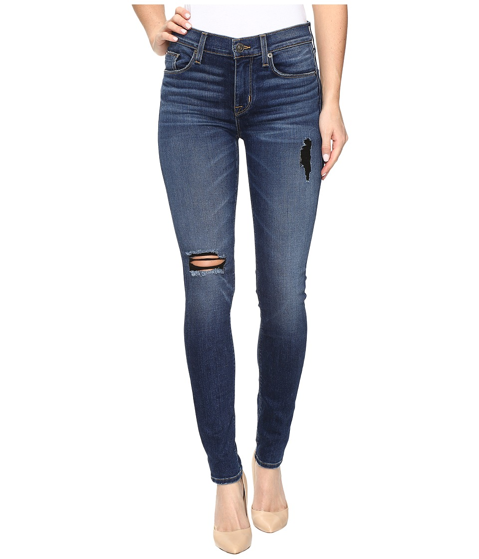 Hudson Nico Mid-Rise Super Skinny Jeans in Tipping Point (Tipping Point) Women