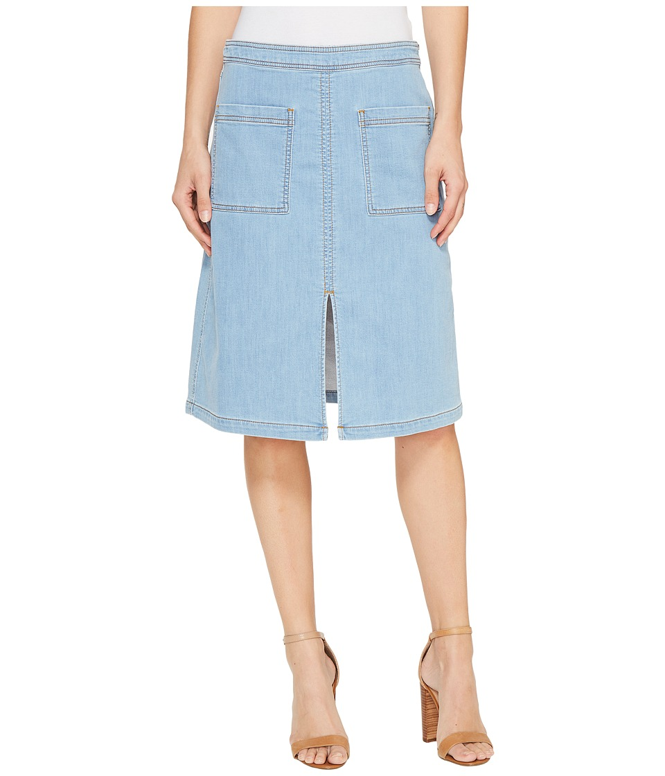 Splendid - Indigo Patch Pocket Skirt (Light Wash) Women's Skirt