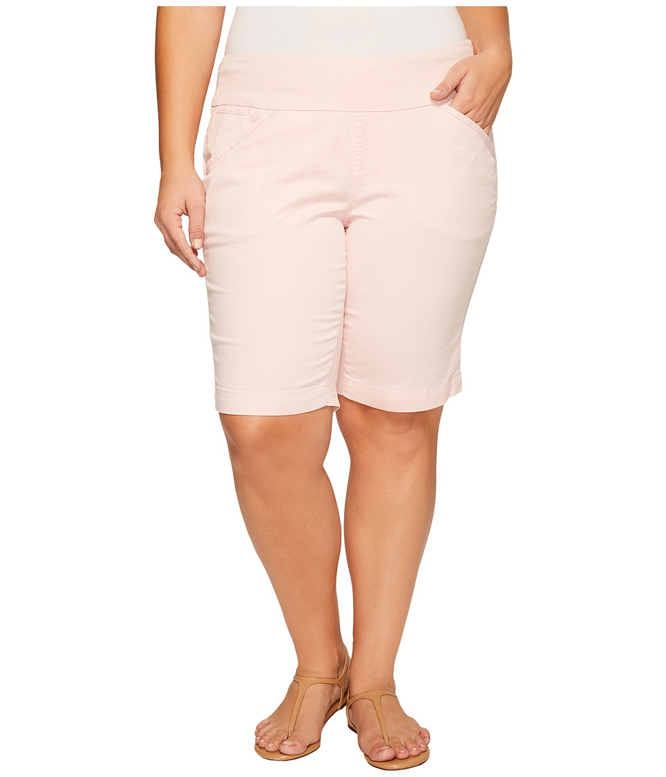 Jag Jeans Plus Size - Plus Size Ainsley Classic Fit Bermuda in Bay Twill (Conch Shell) Women's Shorts