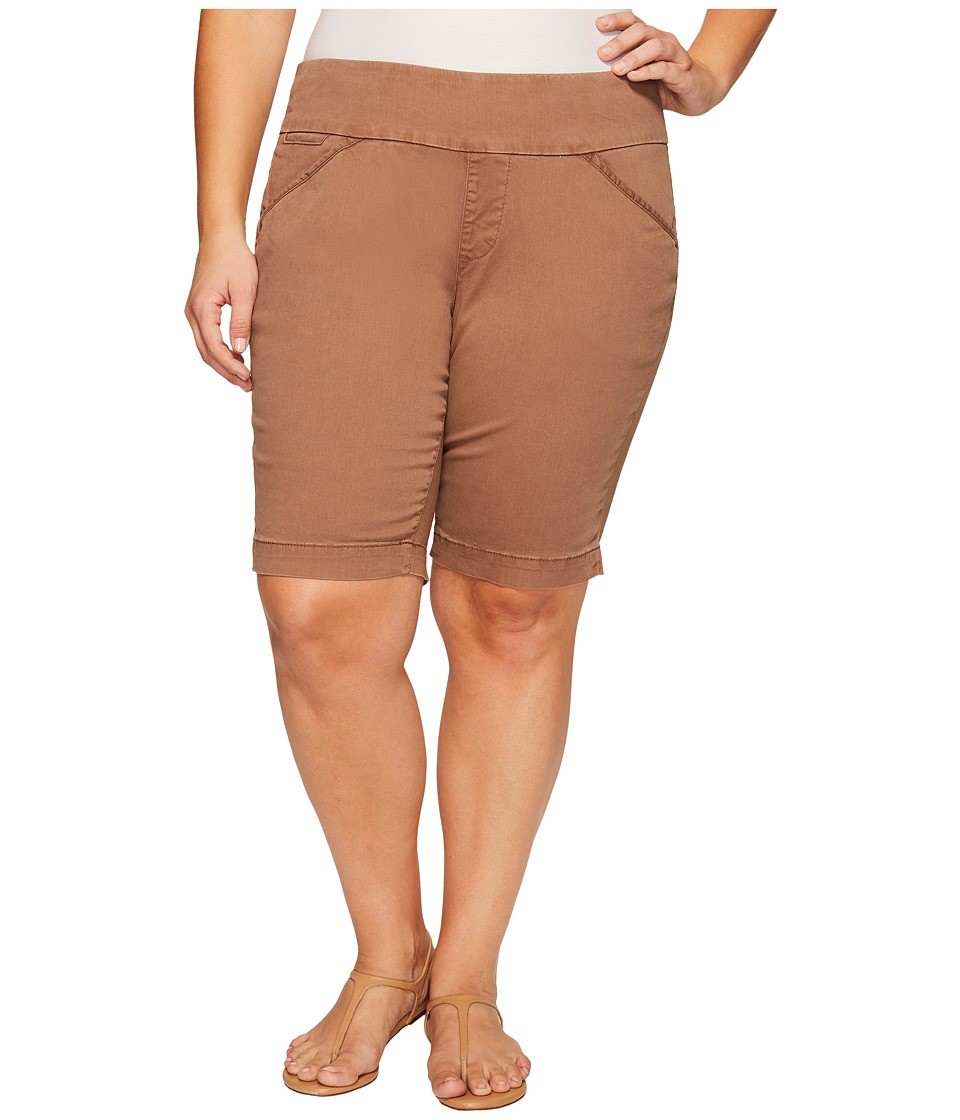 Jag Jeans Plus Size - Plus Size Ainsley Classic Fit Bermuda in Bay Twill (Birds Nest) Women's Shorts