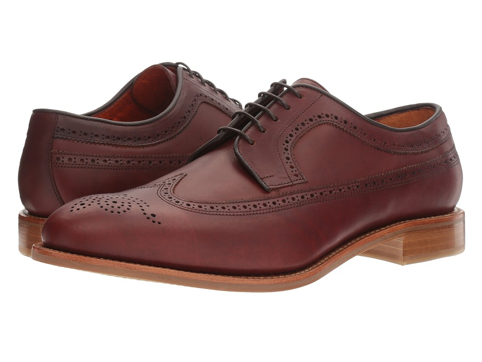Crosby Square - Graham (Brown Horween) Men's Lace Up Wing Tip Shoes