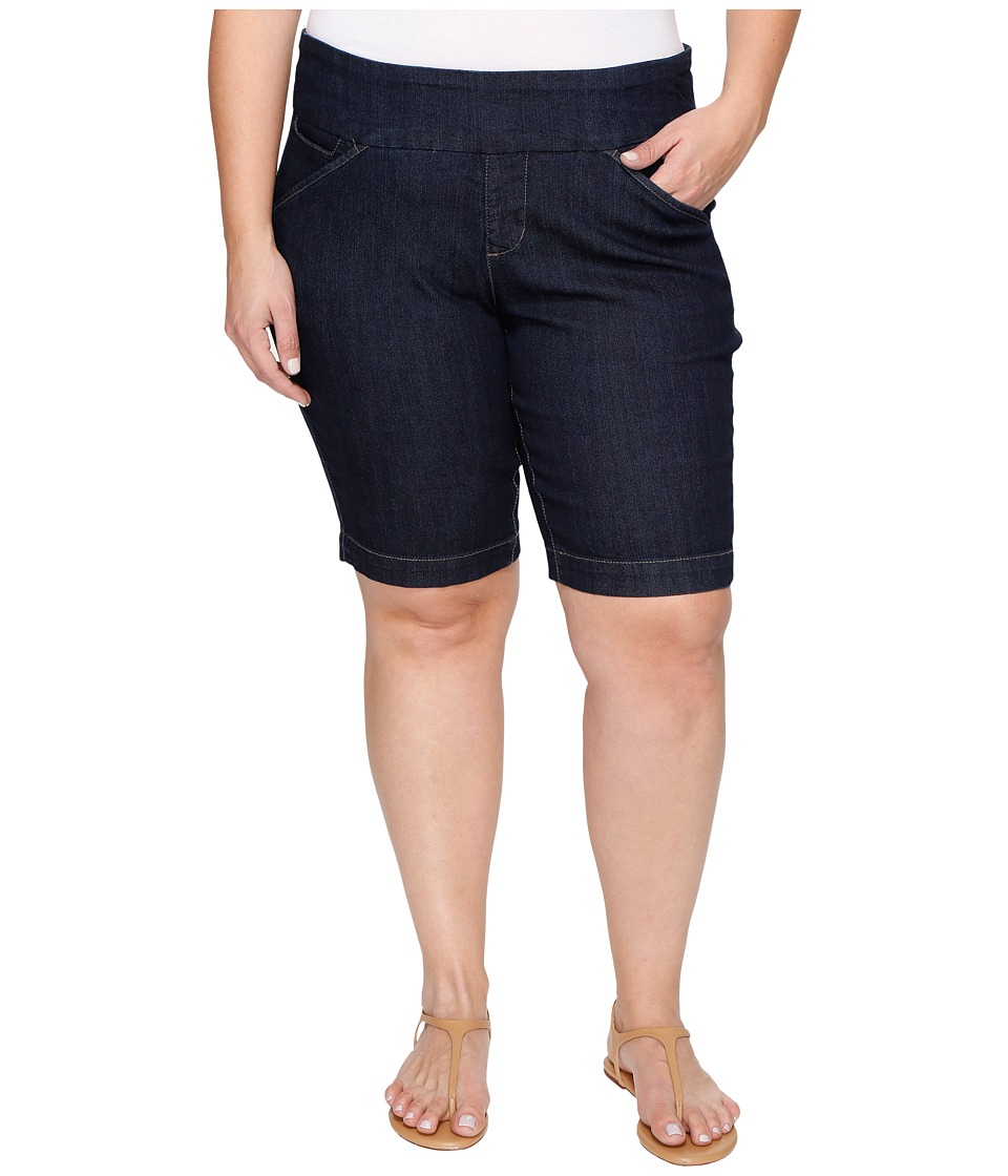 Jag Jeans Plus Size - Plus Size Ainsley Pull-On Bermuda Comfort Denim in Dark Shadow (Dark Shadow) Women's Shorts