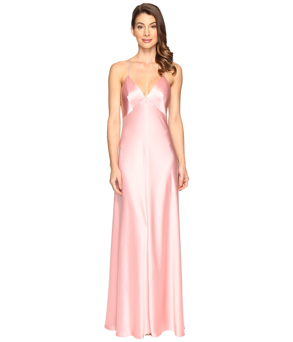 JILL JILL STUART - Satin Back Crepe Slip Dress (Peach Blossom) Women's Dress