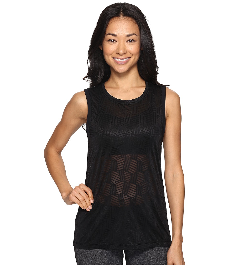 Lorna Jane - Powerful Excel Tank Top (Black) Women's Sleeveless
