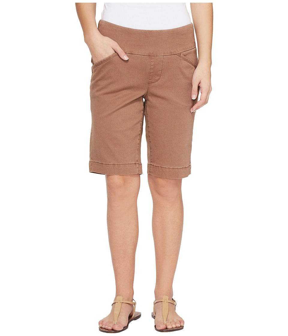 Jag Jeans Petite - Petite Ainsley Pull-On Classic Fit Bermuda Bay Twill (Birds Nest) Women's Shorts