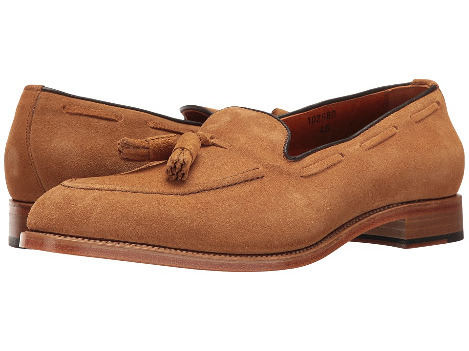 Crosby Square - Ainsley (Toffee CF Stead Suede) Men's Slip on Shoes