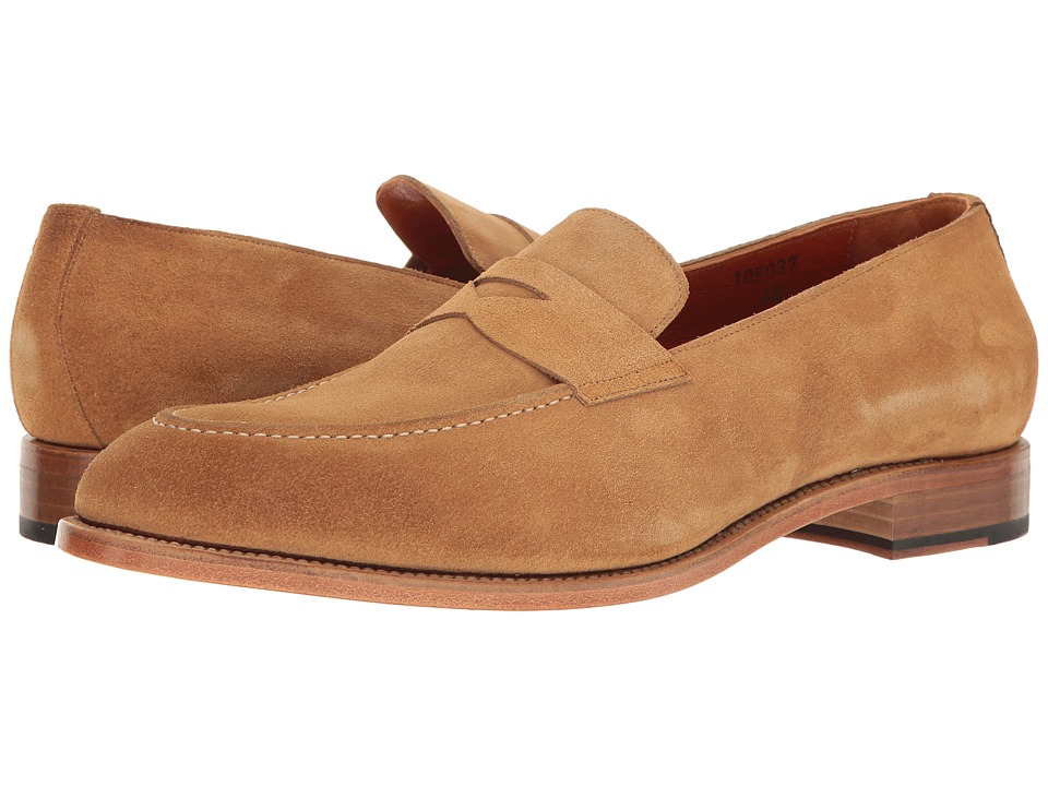 Crosby Square - Randall (Light Tan Suede) Men's Slip on Shoes