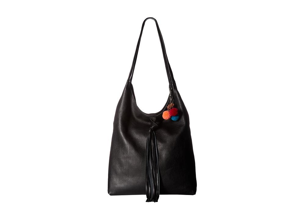 The Sak - Pfieffer Bucket (Black) Handbags