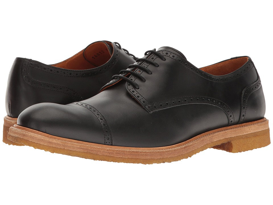 Crosby Square - Winterton (Black) Men's Lace Up Cap Toe Shoes
