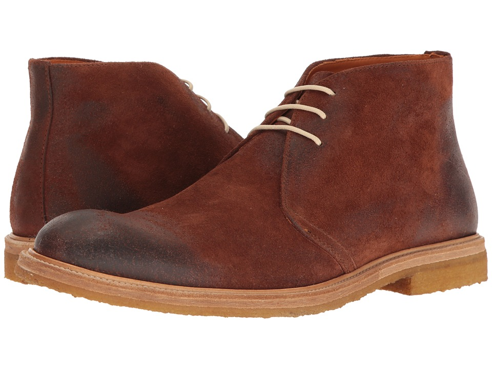 Crosby Square - Brogan (Brown Suede) Men's Lace-up Boots