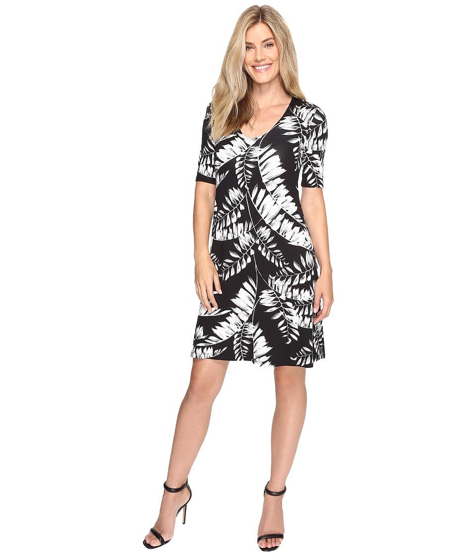 Karen Kane - Pencil Sleeve Taylor Dress (Print) Women's Dress