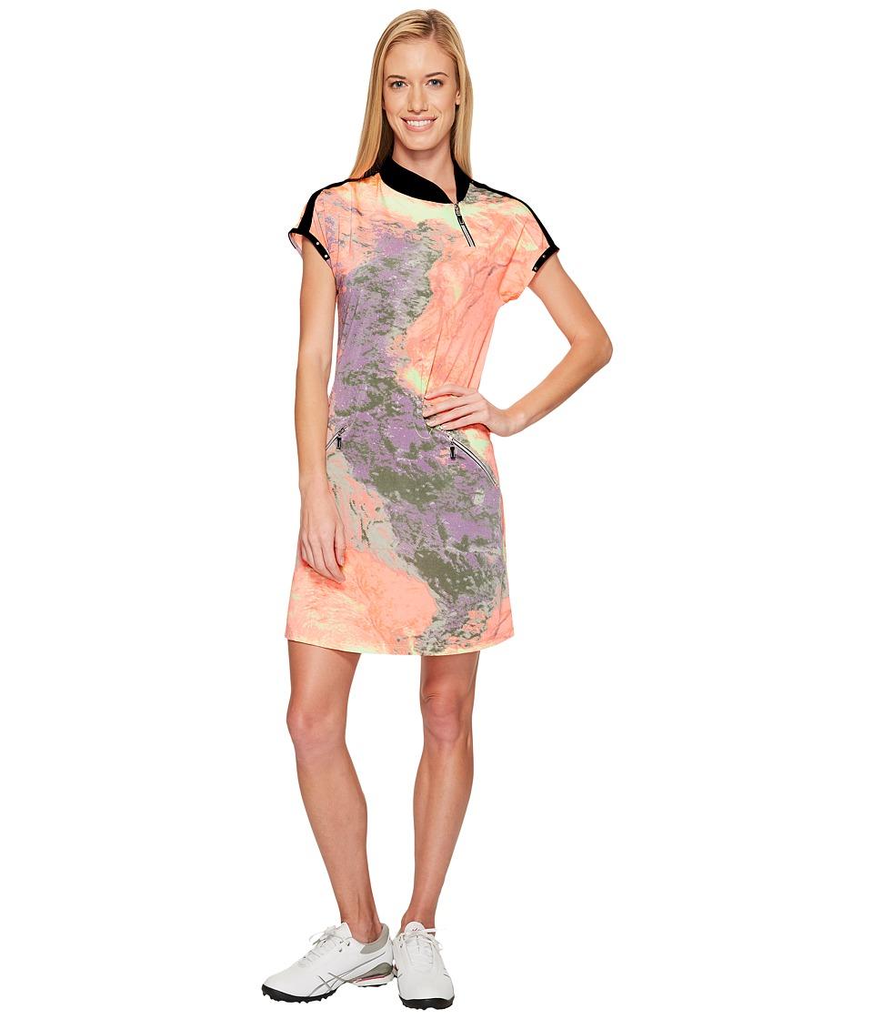 Jamie Sadock - Lava Print Dress (Tutti Fruiti) Women's Dress