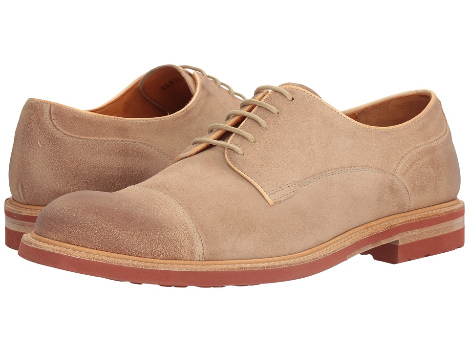 Crosby Square - Hopkins (Natural Suede) Men's Lace up casual Shoes