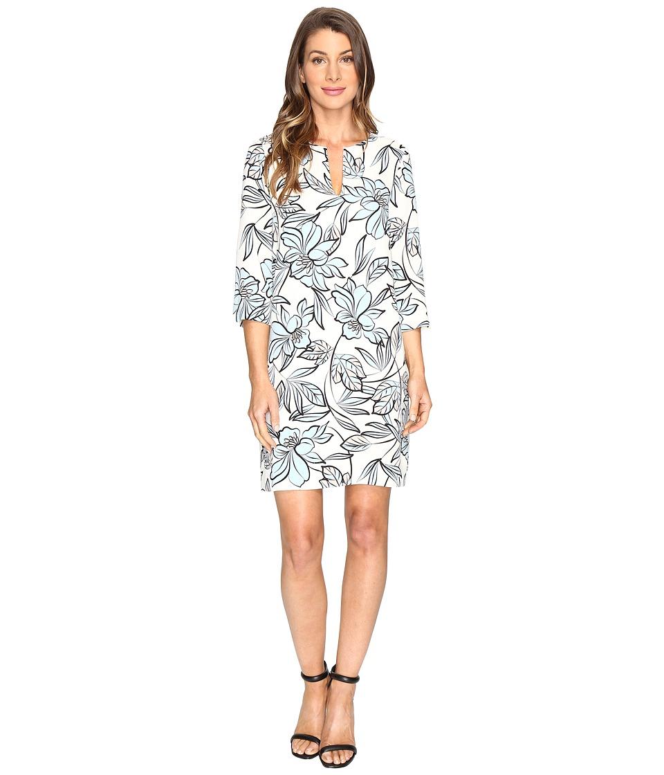 Karen Kane - Floral Shift Dress (Print) Women's Dress