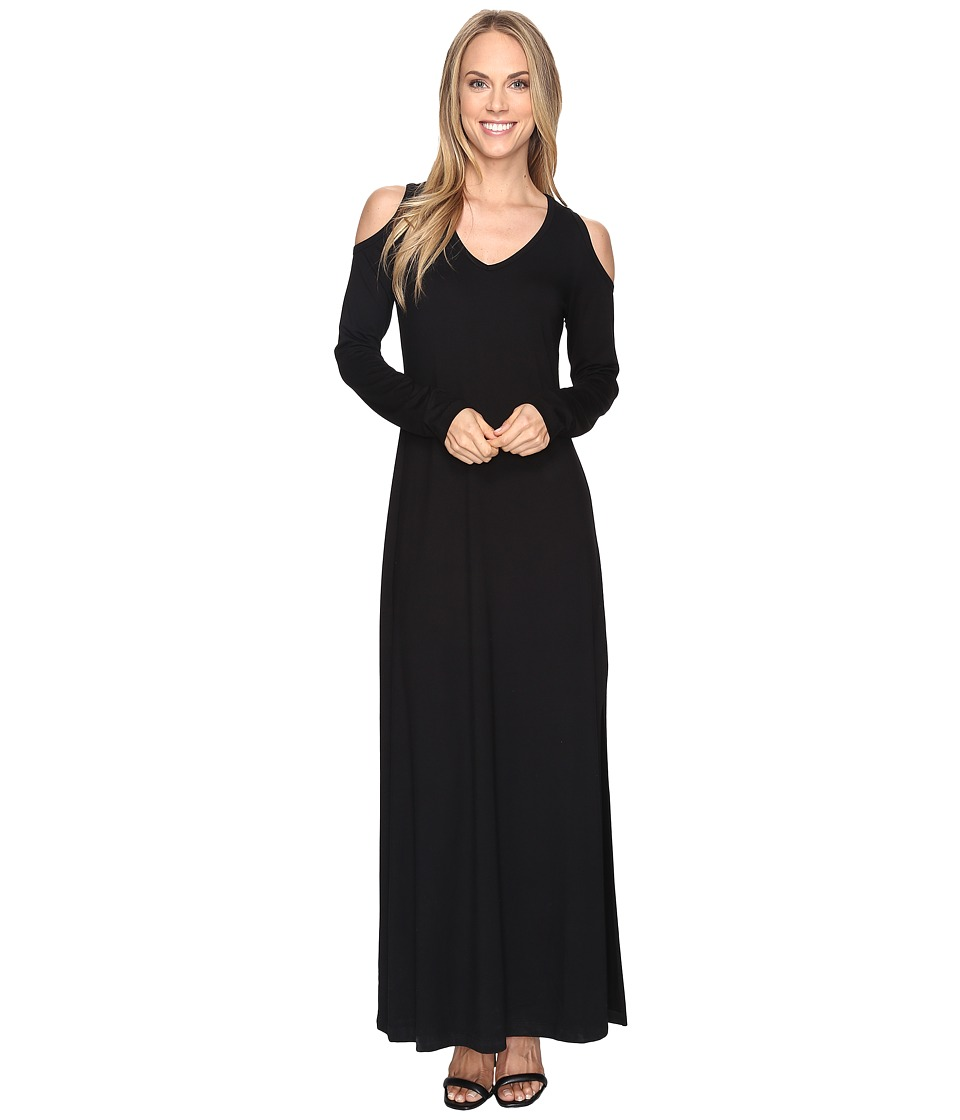 Karen Kane - Cold Shoulder Maxi Dress (Black) Women's Dress