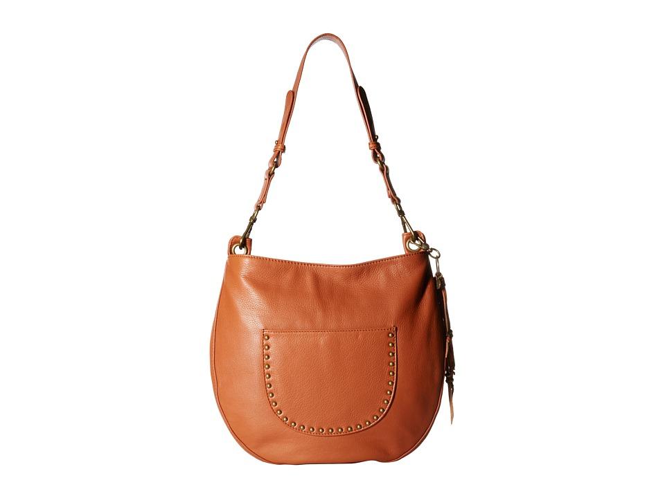 The Sak - Zinnia Hobo (Cognac) Hobo Handbags