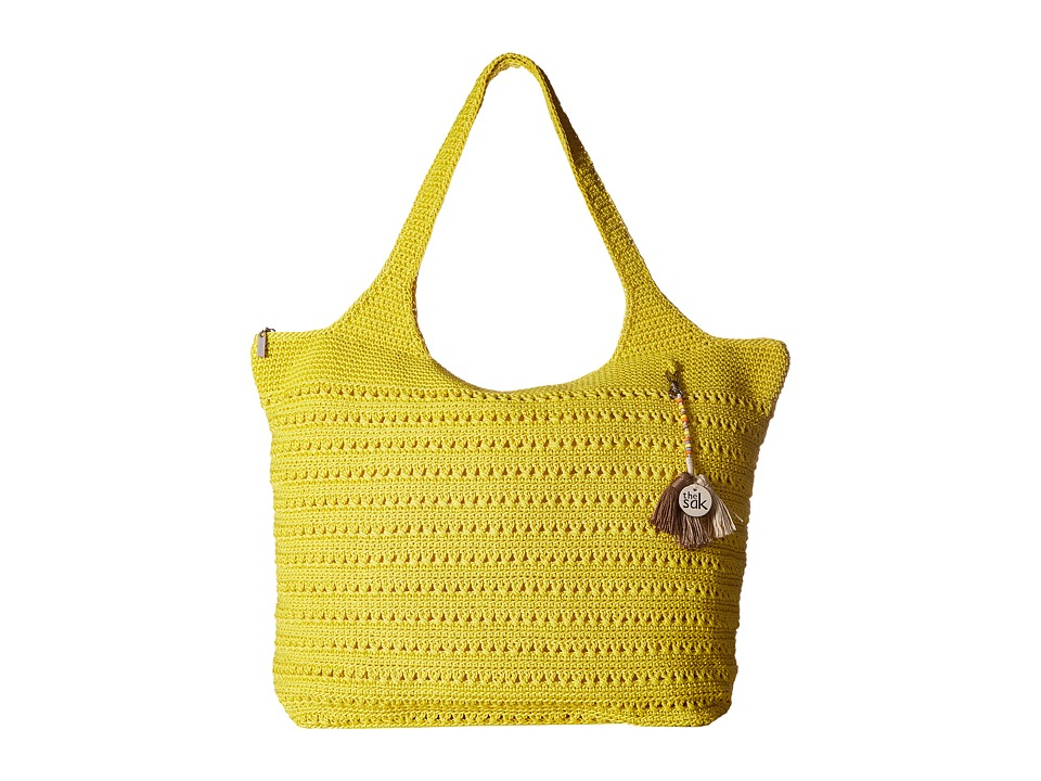 The Sak - Palm Springs Extra Large Tote (Citron) Tote Handbags