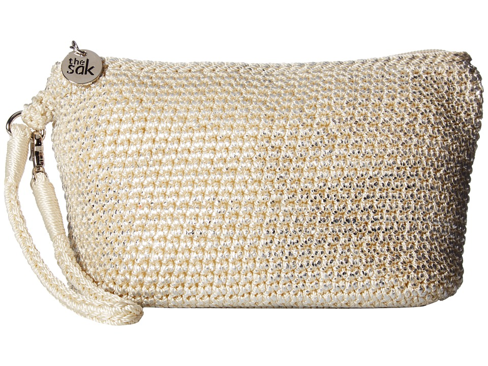 The Sak - Palm Spring Cosmetic (Natural Metallic) Cosmetic Case