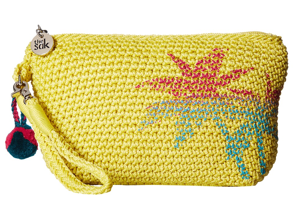 The Sak - Palm Spring Cosmetic (Citron Palm) Cosmetic Case