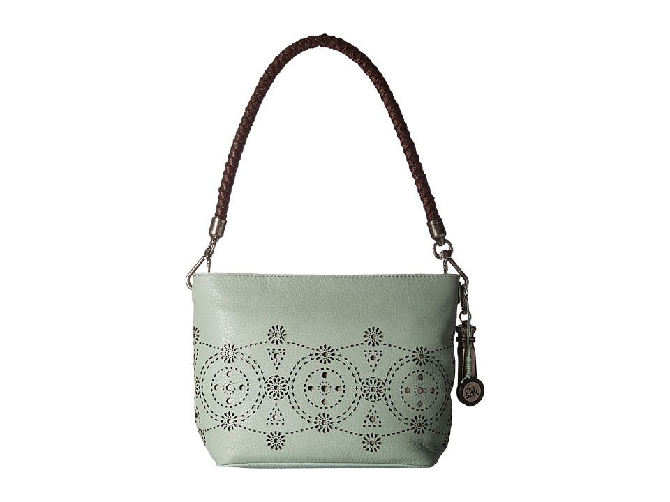 The Sak - Indio Leather Demi (Mint Morrocan Perf) Shoulder Handbags