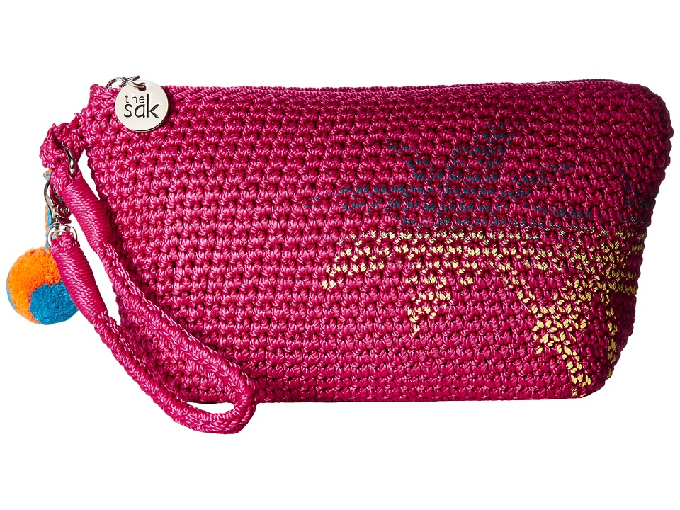 The Sak - Palm Spring Cosmetic (Pinkberry Palm) Cosmetic Case