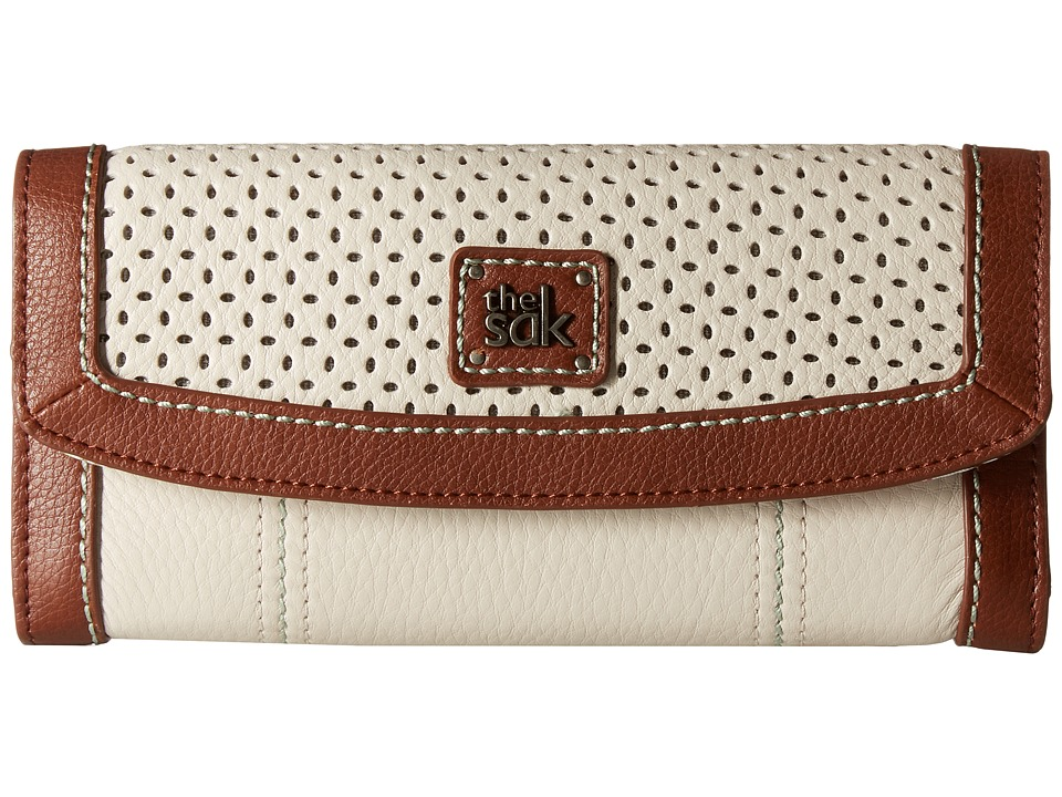 The Sak - Iris Flap Wallet (Stone Canyon Perf) Wallet Handbags