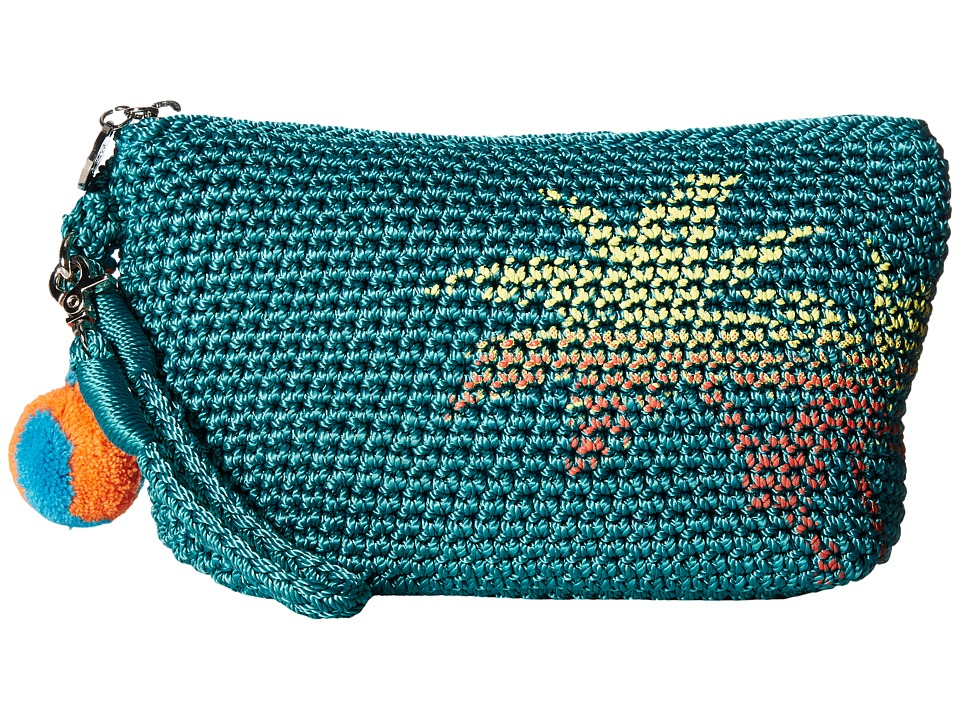 The Sak - Palm Spring Cosmetic (Azure Palm) Cosmetic Case